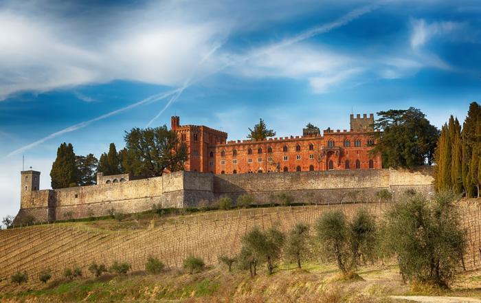 Il Castello di Brolio nel Chianti