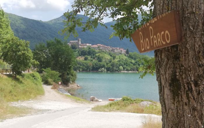 Lago di Vagli percorso